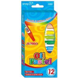 96 of 12 Color Oil Pastels