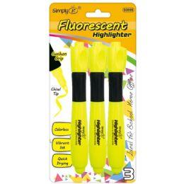 96 of Three Piece Fluorescent Highlighters