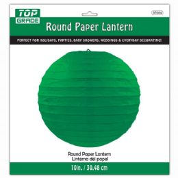 96 of Paper Lantern 12 Inch Hunter Green