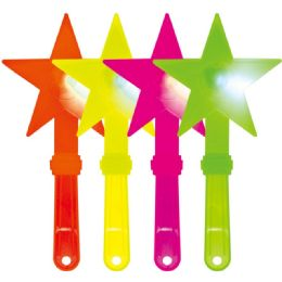 100 of Led Neon Star Wand