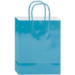 120 of Everyday Gift Bag Aqua Size Large
