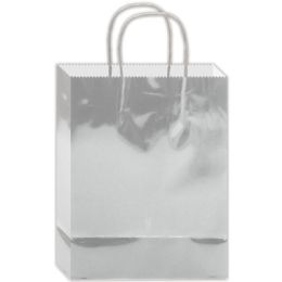 180 of Everyday Gift Bag Silver Size Medium