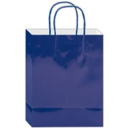 180 of Everyday Glossy Gift Bag Royal Blue Size Small