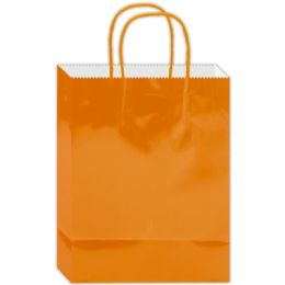 180 of Everyday Glossy Gift Bag Orange Size Small