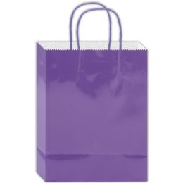 180 of Everyday Glossy Gift Bag Lavender Size Small