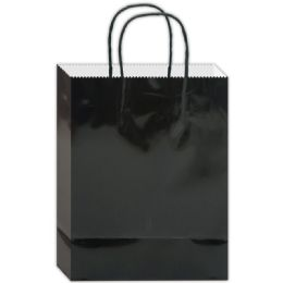180 of Everyday Glossy Gift Bag Black Size Small