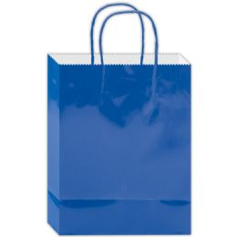 180 of Everyday Glossy Gift Bag Blue Size Small