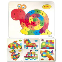96 of Wooden Snail Puzzle ABC
