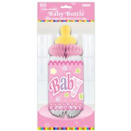 96 of Honeycomb Baby Bottle In Pink