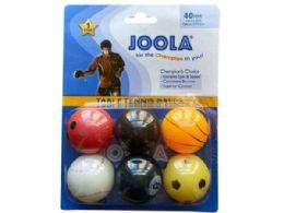 72 of JOOLA 6 Pack Sport Themed TableTennis Balls