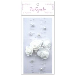 96 of Pear Garland In White