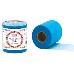 96 of Decoration Tulle In Blue