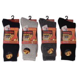 12 of Men's Polar Extreme Heat Thermal Socks 42% Wool Blend