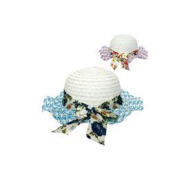 96 of Girls Floral Summer Hat