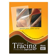 """48 of 9"""" X 12"""" Tracing Paper Pad"""