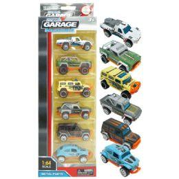 72 of 6 Piece Vehicle Set