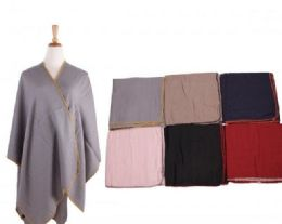 18 of Women's Shawl Wrap Poncho Cape Cardigan Sweater Open Front for Fall Winter