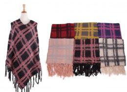 18 of Women's Cozy Warm Poncho Sweater Elegant Shawl Wrap