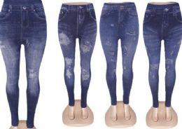 60 of Womens Mid Waist Stretch Jean Jegging