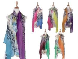 120 of Womens Animal Printed Open Front Drape Cardigan Scarf Vest