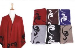 36 of Women's Warm Shawl Wrap Cape Winter Cardigan Sweaters Open Front Poncho