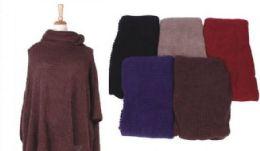 18 of Women's Cozy Warm Poncho Sweater Elegant Shawl