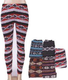 36 of Women Printed High Waist Ultra Soft Yoga Pants Comfy Workout Fashion Leggings