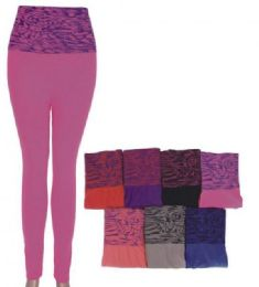 36 of Women's Print Pattern Leggings Premium Soft Stretch