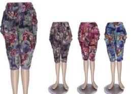 72 of Capri Pants For Women Casual Print