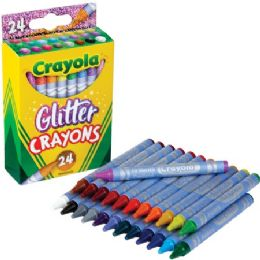 288 of Crayola Glitter Crayons