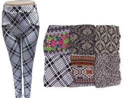72 of Women Printed Pants With Zippered Pockets