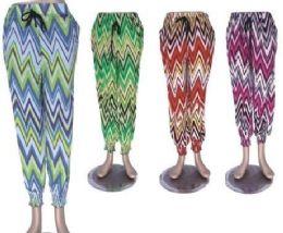 72 of Women's Comfy Casual Pants Printed Drawstring Palazzo Lounge Pants Wide Leg