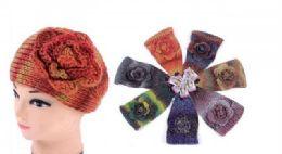 60 of Ear Muffler Headwrap for Women Knit Earmuff With Flower