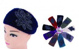 120 of Ear Muffler Headwrap for Women Knit Earmuff With Flower