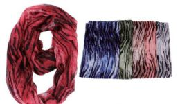 72 of Women's Printed Light Weight Infinity Scarf