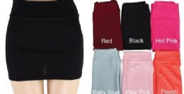 48 of Women's Casual Stretchy Bodycon Pencil Mini Skirt