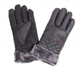 48 of Men's Leather Winter Glove