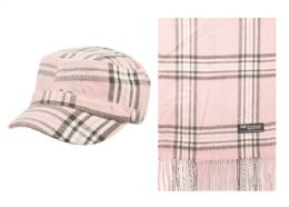 12 of Plaid Cadet Hat And Scarf Sdt