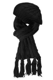 12 of Knit Beret And Scarf Set