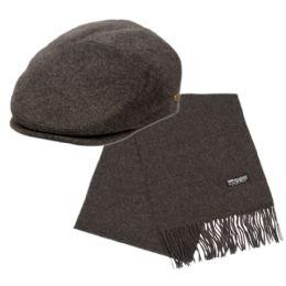 12 of Wool Ivy Cap Plus Scarf Set
