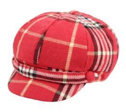 24 of Plaid Fashion Cabbie Hat