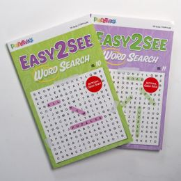 24 of Word Search 80pg Easy To See 2 Titles Digest