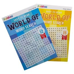 24 of Word Search 80pg World Of Words 2 Titles
