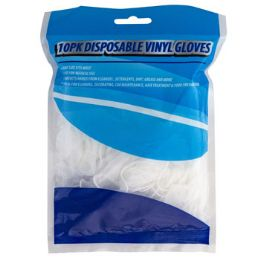 48 of Gloves Disposable Vinyl 10pk Universal Size