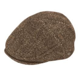 12 of Herringbone Wool Flat Ivy Caps With Earmuff In Brown