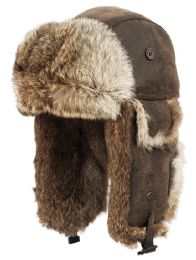 4 of Winter Faux Fur Bomber Trapper Hat In Brown