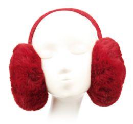 12 of Winter Warm Faux Fur Earmuff Assorted Color