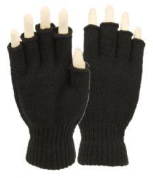 48 of Half Finger Knit Gloves