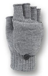 48 of Fingerless Knit Glove With Flip In Assorted Color