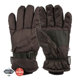12 of Ladies Waterproof Ski Glove With Thermal Fleece Lining